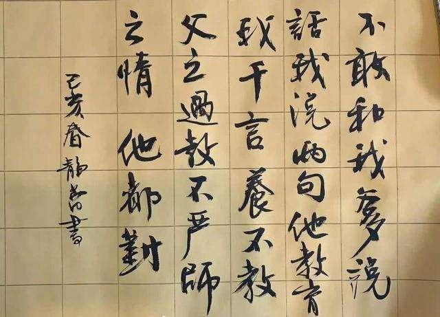 演员夏雨书法被网友称赞:小楷写得笔笔传神,赶超书法家