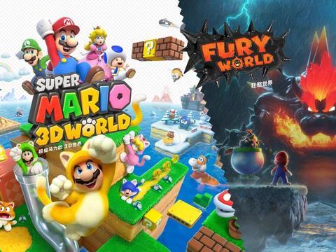《超级马里奥3D世界狂怒世界》新情报!马里奥会超极巨化