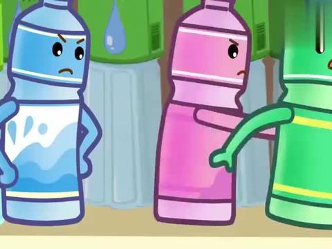 可可小爱:小绿瓶作为过期食品,还特别理直气壮,是谁给你的勇气