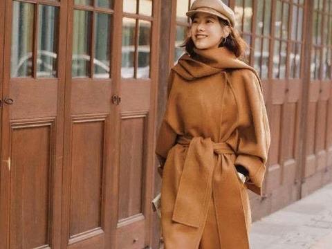 长大衣+阔腿裤=秋冬的高阶穿搭