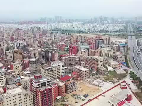 航拍福建厦门城中村,打工者的天堂,你知道这是哪么?
