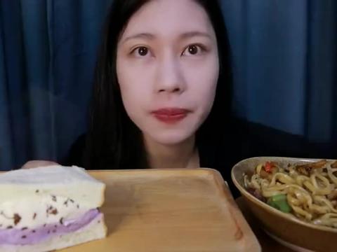 韩国吃播:咸蛋黄南瓜罐子绝了,期待了很久的芋泥桂花奶酪