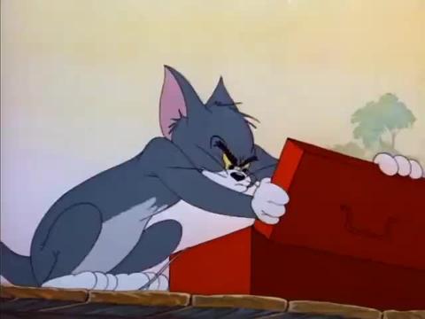 猫和老鼠:汤姆竟用杰瑞当做鱼饵,不料偶遇鳄鱼,这下在劫难逃了