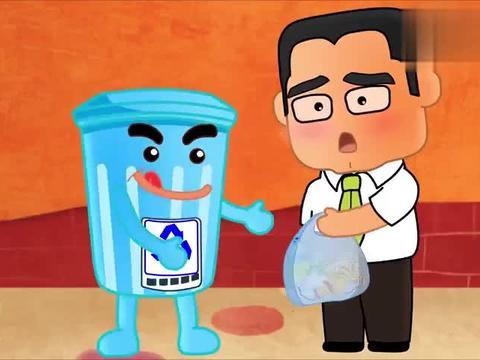 可可小爱:垃圾分类要做好,垃圾也有可回收,节约资源才是真