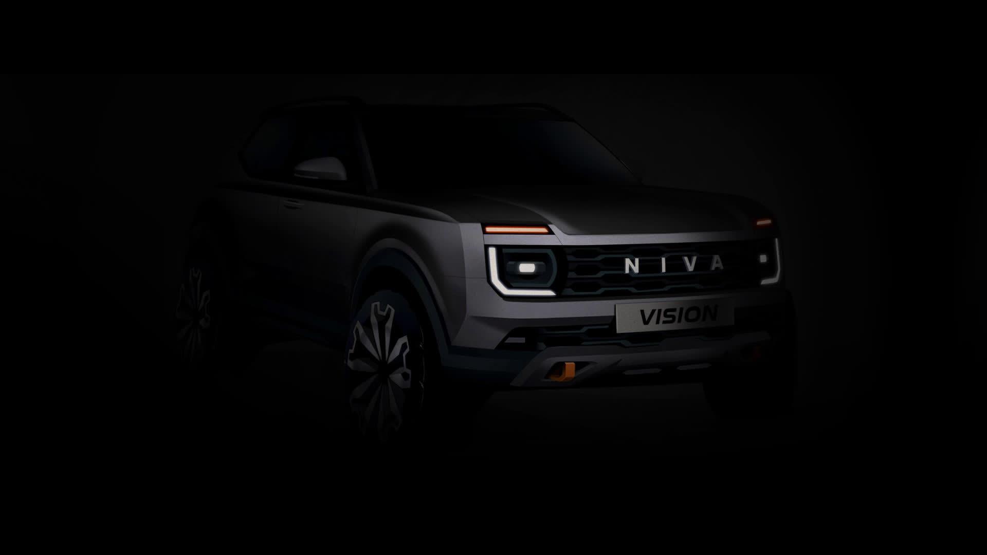 基于CMF平台,继承原始设计,全新LADA Niva首次亮相