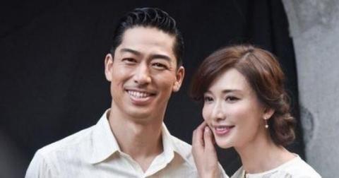 一张林志玲的近照透露,她在国外结婚不到一年