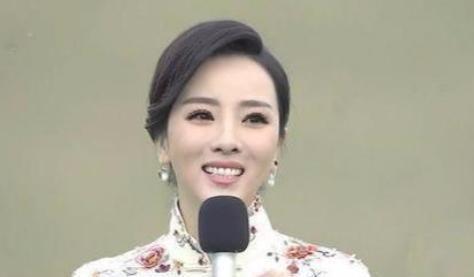 """52岁王小丫近照,身体发福脸部僵硬,昔日""""央视一姐""""美貌不再"""