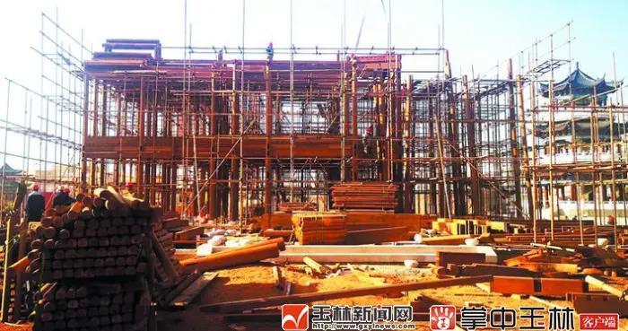 北流乡贤文化公园建设提速