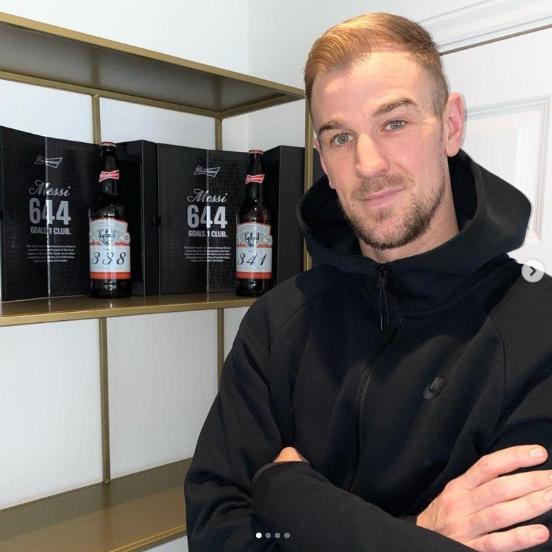 乔-哈特收到梅西百威啤酒:能成为他历史中的一部分是我荣幸