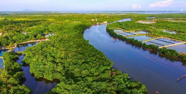 广东江门新海岸公园建设项目,用地面积82600平方米,投资3480万