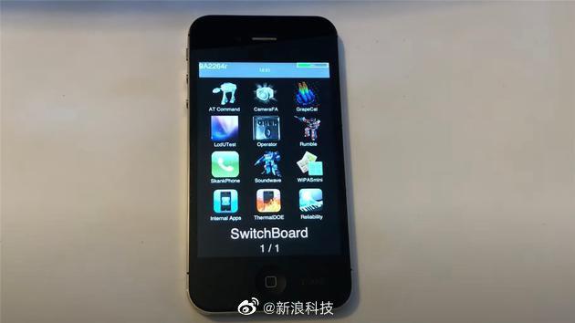 iPhone4S设计阶段原型机曝光:乔布斯的遗作