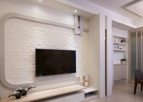 晒晒72㎡紧凑小三房,清爽又舒适,全屋背景墙是亮点,太喜欢了!