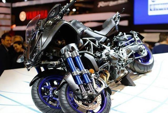 倒三轮摩托再掀浪潮,川崎三轮机车专利曝光!