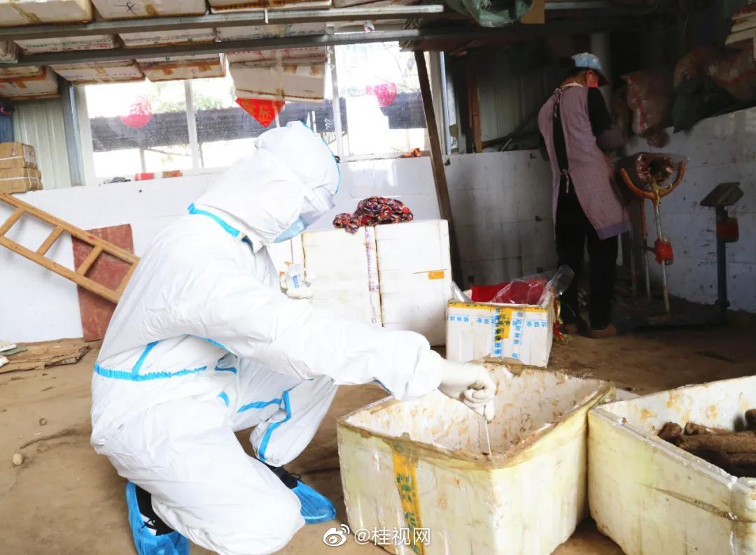 桂林市疾控中心对产地河北的农产品开展抽样检测