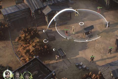 一款二战题材的战术潜行类策略游戏