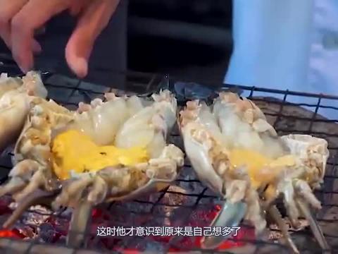 中国游客在越南吃大螃蟹,给了200元就想离开,却被老板叫住了