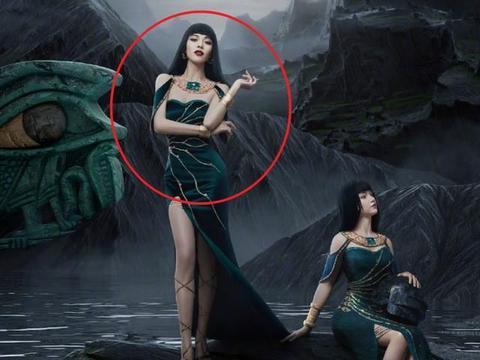 """钟楚曦COS游戏角色,比建模脸还高级,却因齐刘海""""惨遭翻车""""!"""