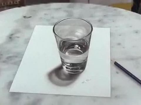 美术生用4张图告诉你3D画有多逼真,网友表示:美术生都是骗子