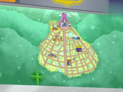 恐龙救援队:市政厅的十字路口发生拥堵,巴吉和霸王龙去看情况