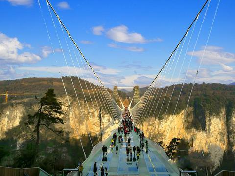 湖南一处门票很贵的大峡谷景区,是全市第三大景区