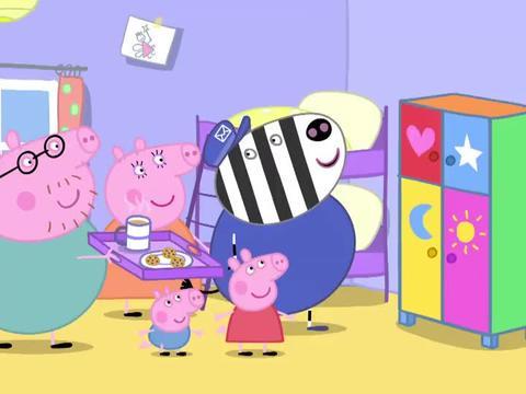 小猪佩奇:佩奇的玩具柜,实在是太小了,一只娃娃都放不进去