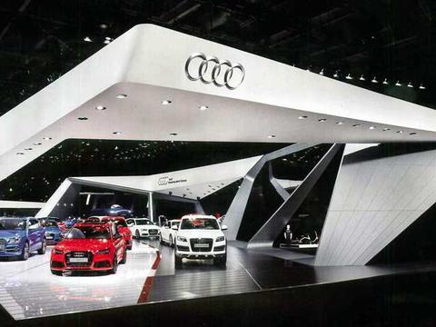 车展三维立体智慧展厅设计展台搭建形式传递品牌信息