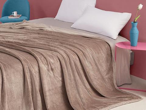朋友家都在用的毯子,柔软舒适,可水洗不易褪色