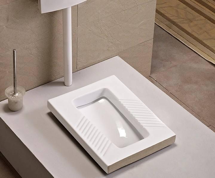 """蹲便器安装有""""说法"""",怎么安装才省水干净?"""