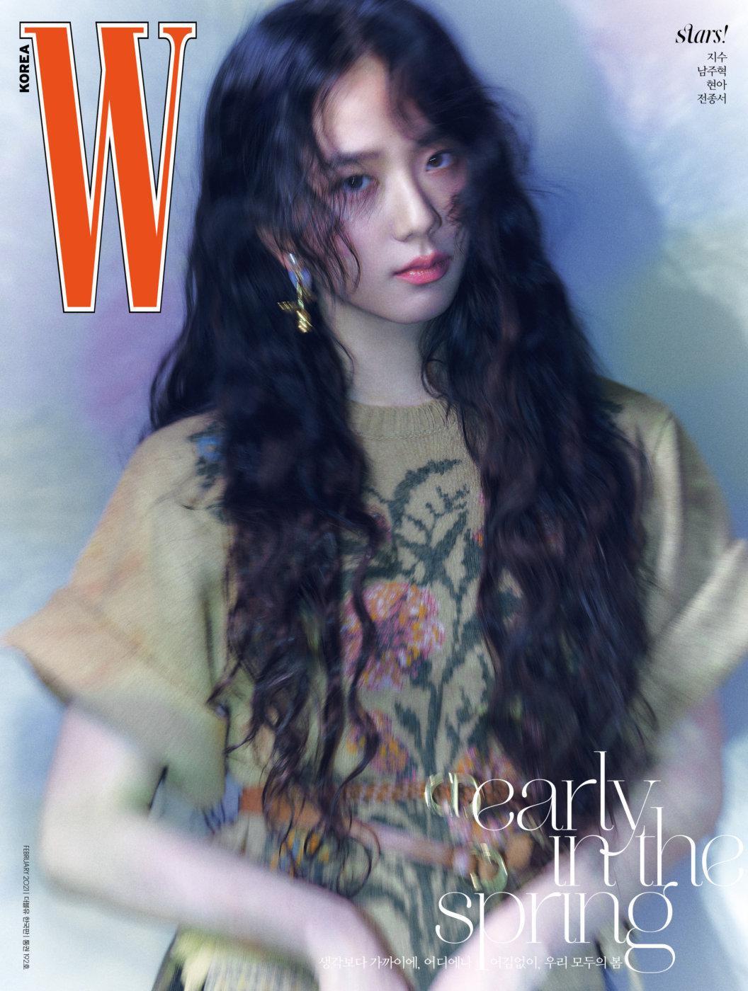 金智秀(jisoo)× Dior ×Wkorea 2月号封面……