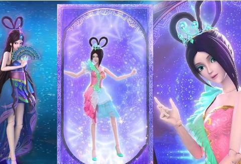 叶罗丽:当仙子穿上新礼服,王默尽显公主气质,茉莉才是最美的