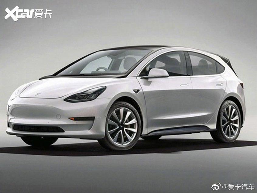 特斯拉国产新车最新渲染图 或明年投产