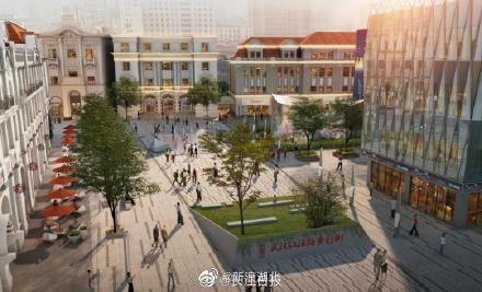 武汉江汉路步行街将扩容,速看