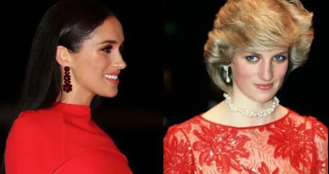 梅根像极戴安娜王妃,光芒盖过王子,哈里宠妻无度,甘当妻子绿叶