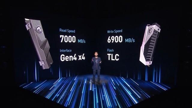 微星固态硬盘GAMING SSD亮相:PCIe4.0x4协议+最大4TB