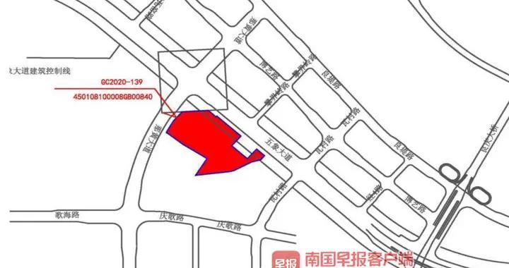 广西体育中心东侧近百亩地块以起始价成交,将建体育产业综合项目