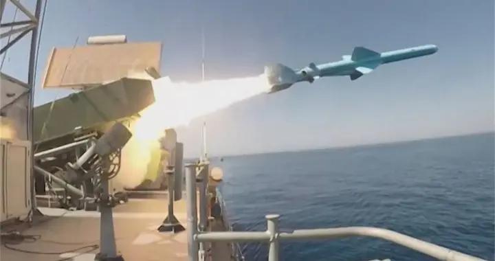 巡航导弹一跃而出,准确命中印度洋靶标,伊朗给全世界上了一堂课