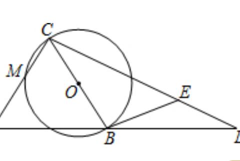 此题要证圆的切线并求长度,由相似三角形得出线段比例式是关键