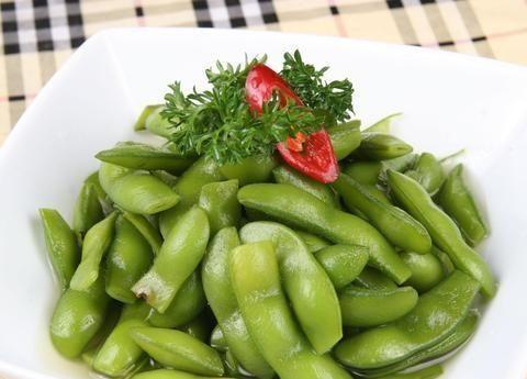 不要直接煮水煮大豆,记住这两点,大豆翠绿仍然很好吃