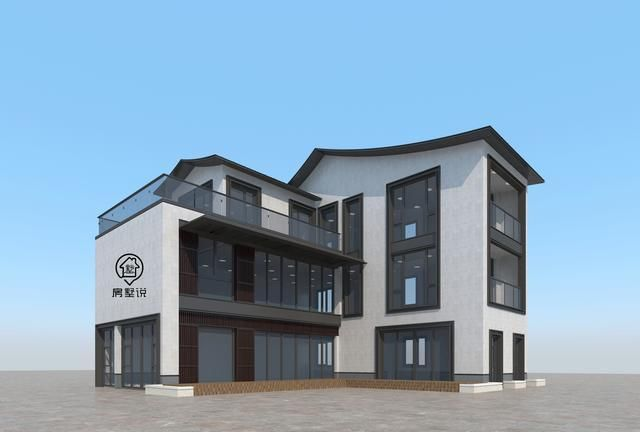 别墅设计:面积不大户型都有,三个卧室各个精装,新中式质感再现