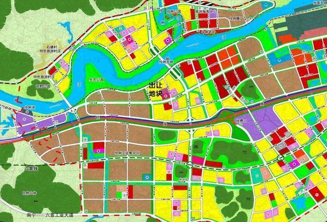 南宁房地产开发准备进军遥远的伶俐镇,将出让58亩商住地块