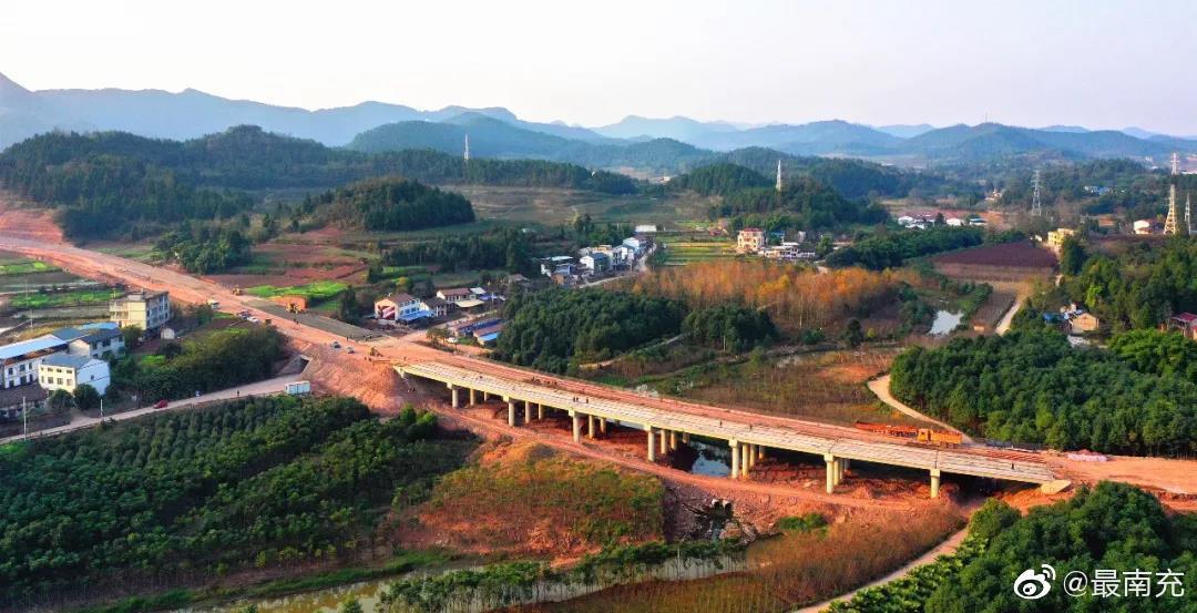西充县第四站国道212线西充县城段改建工程项目