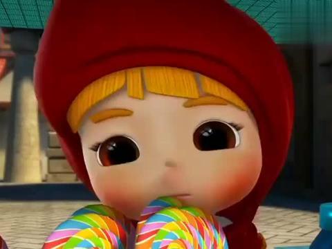 猪猪侠:白雪公主听到消息,心有不甘,开始疯狂进食!
