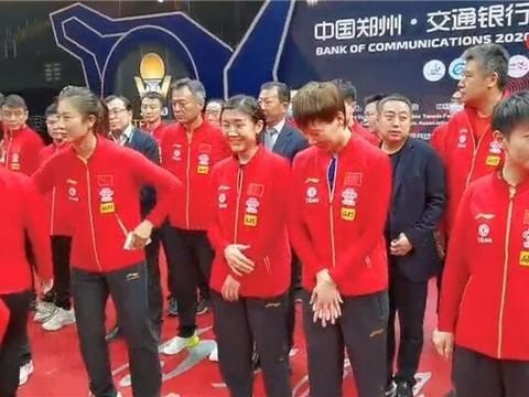 孙颖莎5字回应奥运竞争!刘诗雯复出想打奥运,小魔王也不想认输
