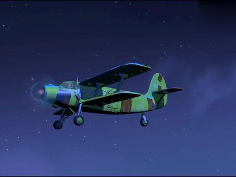 熊出没:大马猴学狼叫,吓得二狗躲飞机里不敢出来,胆子真小啊