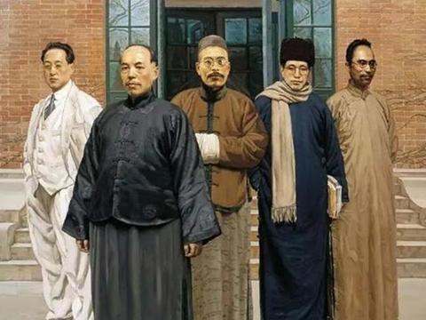 清末民初中西思想碰撞导致大师频出