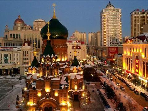 世界闻名的三大圣索菲亚大教堂,一座就在哈尔滨,历史变迁的见证