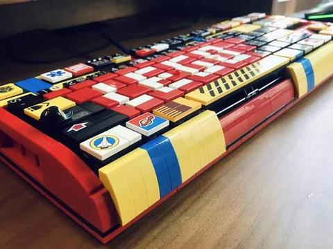 3999元的乐高机械键盘上手体验,非主流的视觉盛宴