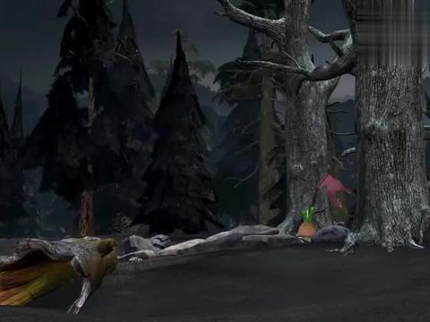 熊出没:长老启动花苞,腐朽国王突然出来捣乱,真是够讨厌的