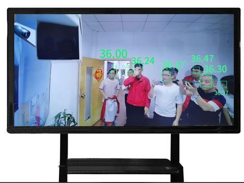 启功测温——十大品牌测温设备、热成像多人测温,通过式测温