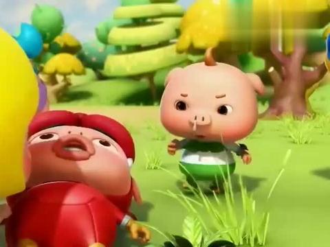 猪猪侠:比蒙巨兽被陷害,猪猪侠找到证据,还亲口尝了尝!